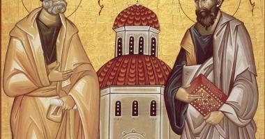 Sărbătoarea  Sfinţilor Apostoli  Petru şi Pavel  în Arhiepiscopia Tomisului