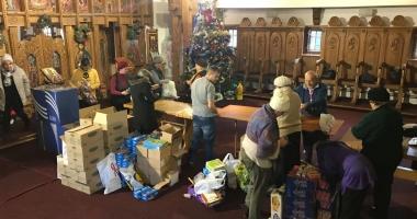 """Moș Crăciun vine la biserica """"Sf. Mina"""" din Constanța"""