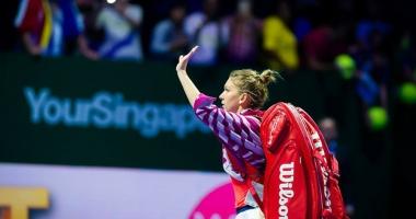 Simona Halep, în coborâre în topul WTA