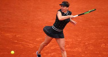 """Simona Halep şi-a """"demolat"""" adversara. E în sferturi la Roland Garros!"""