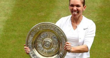 Simona Halep, cadouri din partea organizatorilor de la Wimbledon