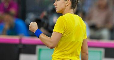 Tenis - Fed Cup: Simona Halep - Ne dorim să câştigăm la simplu, să nu creăm emoţii