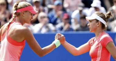 Tenis, Fed Cup. SIMONA HALEP, victorie cu KRISTINA MLADENOVIC