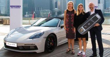 Simona Halep, premiată cu o maşină de lux