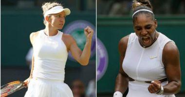 SIMONA HALEP - SERENA WILLIAMS este finala de la Wimbledon 2019!