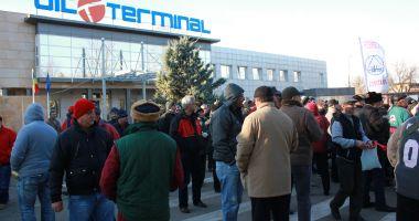 Sindicaliștii intră în lupta pentru salvarea companiei Oil Terminal