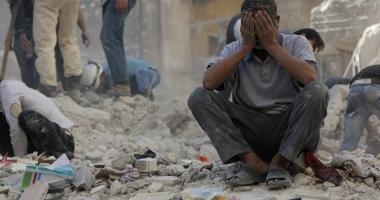 11 civili, ucişi în raiduri aeriene în centrul Siriei
