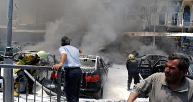 O bombă a explodat  în sediul televiziunii din Siria