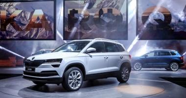 Skoda propune şoferilor cel mai nou SUV din vârful segmentului său, Karoq