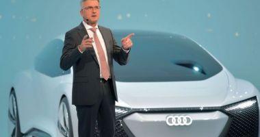 Șoc în Germania. Directorul general al Audi a fost arestat