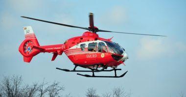 Accident grav. Intervine elicopterul SMURD