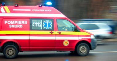 Şoferiţă rănită, după ce un conducător auto băut nu a păstrat distanţa de siguranţă