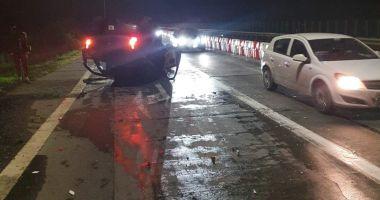Şofer arestat pe Autostrada Soarelui. Conducea băut şi fără permis