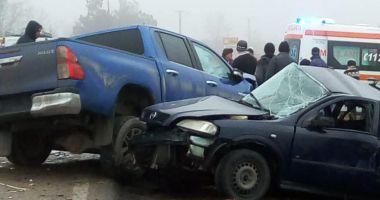 Șofer mort după ce a pierdut controlul direcției