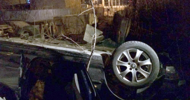 Grav accident rutier pe Podul IPMC. Şoferul se zbate între viaţă şi moarte