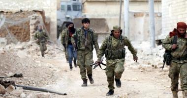 Soldaţii turci şi rebelii sirieni au pătruns  în Al-Bab, un fief  al grupării Stat Islamic