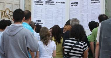 Rata şomajului, în creştere
