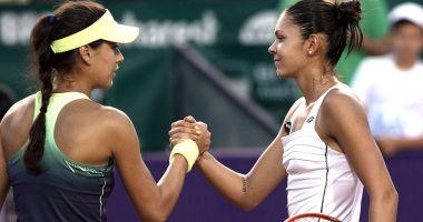 Tenis, WTA Lugano: Sorana Cîrstea și Andreea Mitu s-au calificat în sferturile probei de dublu