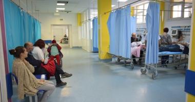 Peste 100 de constănţeni internaţi în spital,  în doar 24 de ore