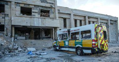 Spitale bombardate în Siria. ONU cere socoteală Moscovei