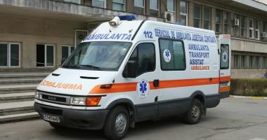 Accident de muncă la cariera Sibioara