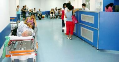 Urgenţa Spitalului Judeţean, sufocată de pacienţi