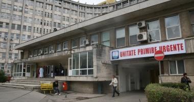 Peste o mie de pacienţi au ajuns în week-end, la Urgenţă