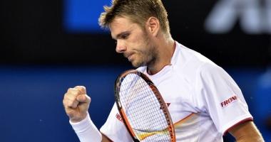 Tenis / Wawrinka s-a calificat în optimile de finală la Monte Carlo