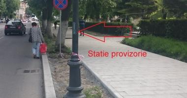 Atenţie, constănţeni! A fost mutată o staţie de autobuze