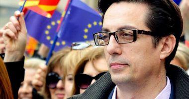 Stevo Pendarovski a preluat oficial preşedinţia Macedoniei de Nord