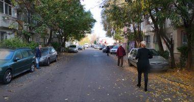 Strada Dumitru Marinescu revine la două sensuri de mers și dispar parcările de pe trotuar
