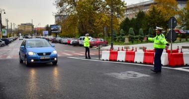 Circulaţia rutieră în Constanţa, restricţionată sâmbătă. Care  sunt zonele vizate