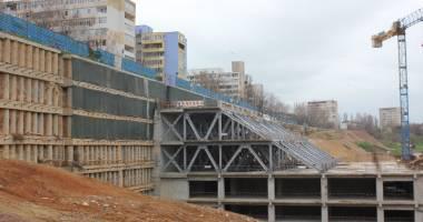Mall-ul de pe strada Traian va fi finalizat. S-au reluat lucrările la World Trade Center