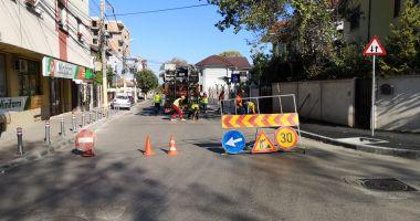 Sens unic pe strada Unirii, între străzile Ion Rațiu și Zorelelor