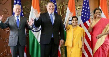 SUA şi India vor să-şi consolideze relaţiile bilaterale în domeniul apărării