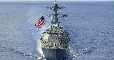 SUA se pregătesc să trimită o navă de război în Marea Neagră