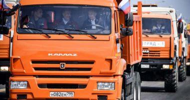 SUA condamnă inaugurarea podului care leagă Crimeea de Rusia