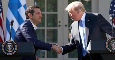 SUA: Donald Trump laudă eforturile Greciei pentru a depăşi criza