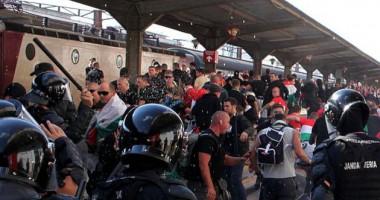 Fanii maghiari, iritaţi după ce au primit pliante cu steagul Ungariei prezentat greşit