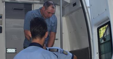 Suspectul în cazul crimei din autobuzul RATC, în arestul IPJ Constanţa