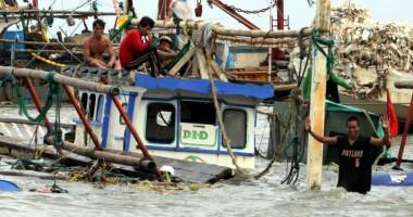 Primul taifun din acest sezon în Taiwan  şi Filipine a ucis 36 de oameni