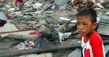 Crucea Ro�ie lanseaz� un apel umanitar pentru victimele taifunului care a devastat Filipine