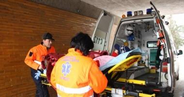 GRAV ACCIDENT RUTIER LA MEDGIDIA. O VICTIM� ESTE �N COM�