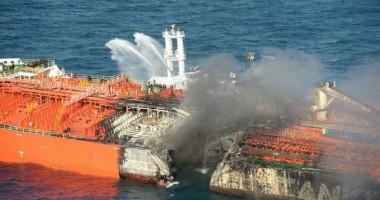 """Tancul chimic """"Maritime Maisie"""" e în pericol să se rupă"""