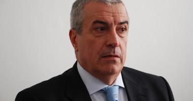 Călin Popescu Tăriceanu este NOUL PREŞEDINTE al Senatului