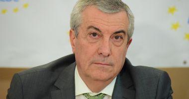 """Călin Popescu Tăriceanu: """"Nu s-a luat o decizie privind liste comune ALDE-PSD la europarlamentare"""""""