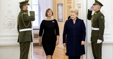 Ţările baltice îi cer preşedintelui american să le apere împotriva Rusiei