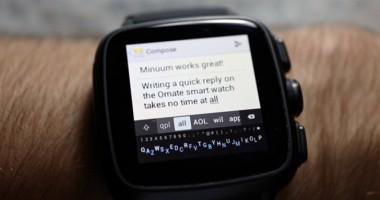VIDEO. Tastatura virtuală pentru smartwatch