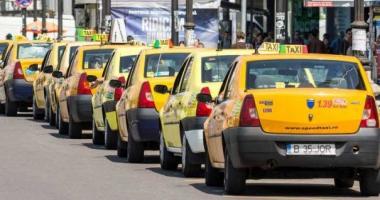 Proiect: 500 de lei amendă pentru taximetriștii care refuză cursele