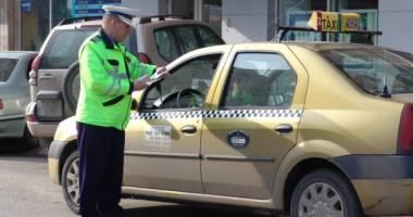 TAXIURILE, BOMBE PE ROŢI / Ce a scos la iveală controlul Poliţiei Române